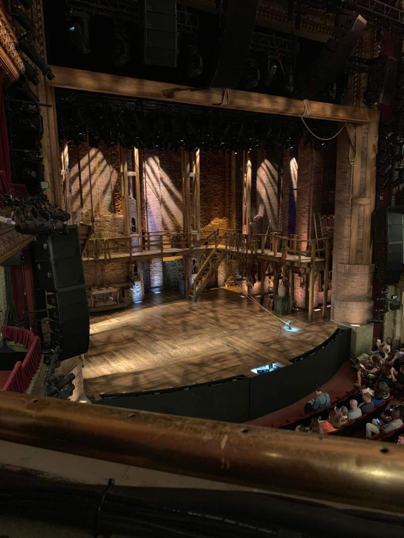 Seating view for CIBC Theatre Section Mezzanine L Row A Seat 9