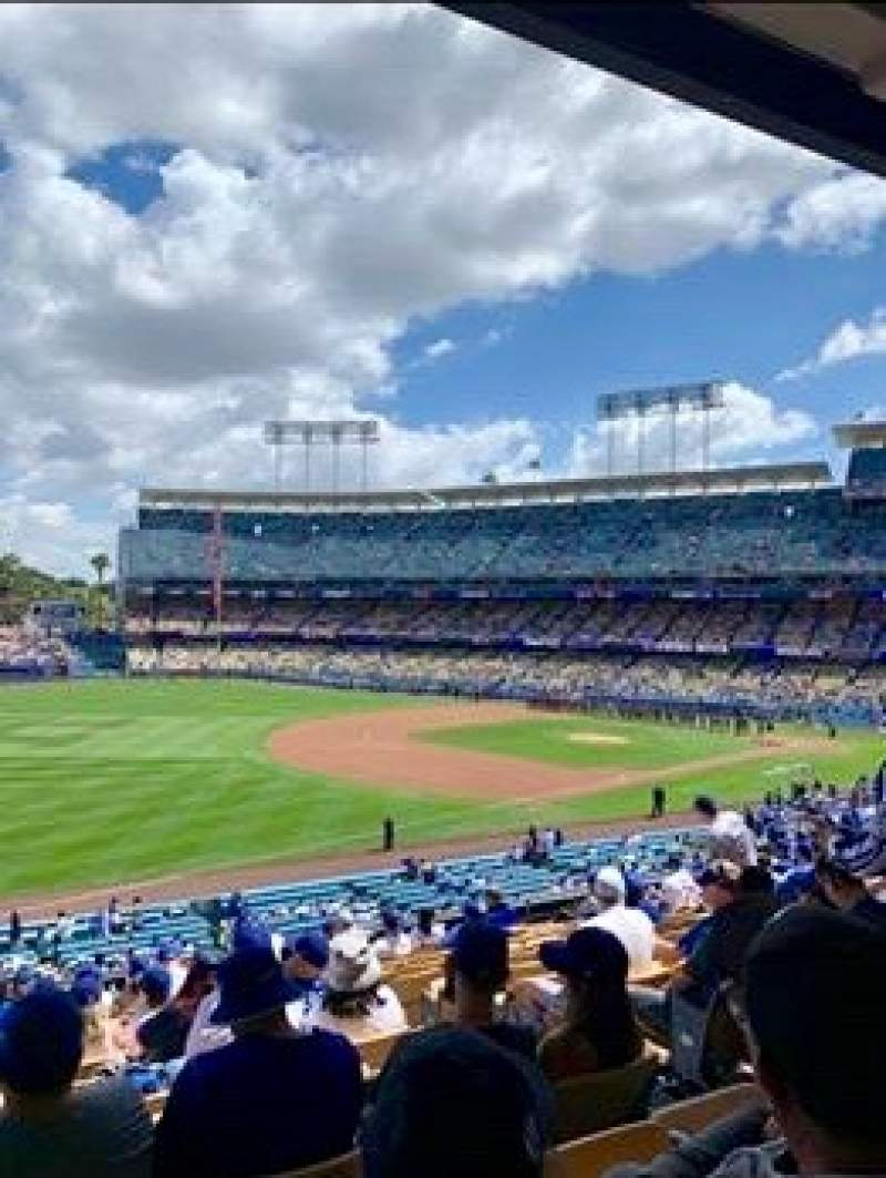 Seating view for Dodger Stadium Section 153LG Row N Seat 5