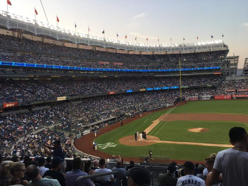 Seating view for Yankee Stadium Section 216 Row 12