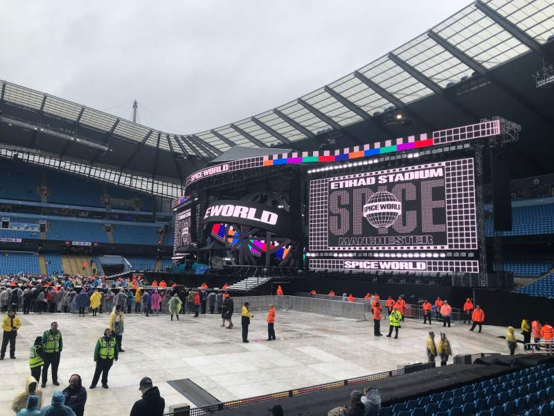 Seating view for Etihad Stadium (Manchester) Section 104 Row L Seat 70