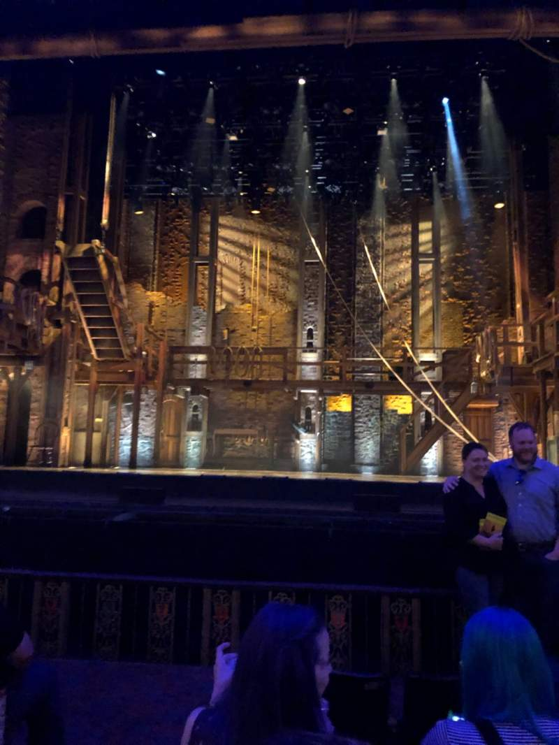 Seating view for Majestic Theatre - San Antonio Section Orchestra R Row D Seat 102