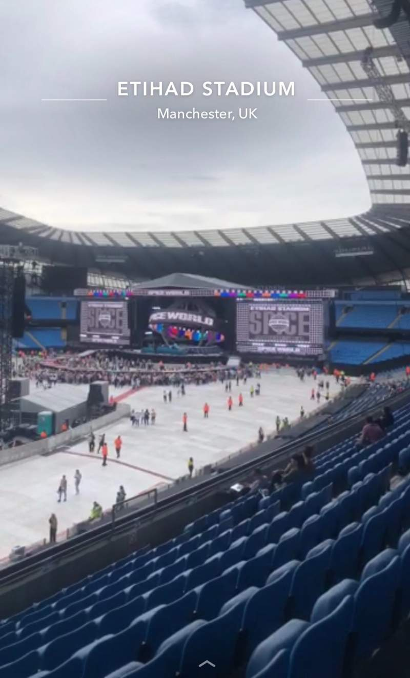 Seating view for Etihad Stadium (Manchester) Section 208