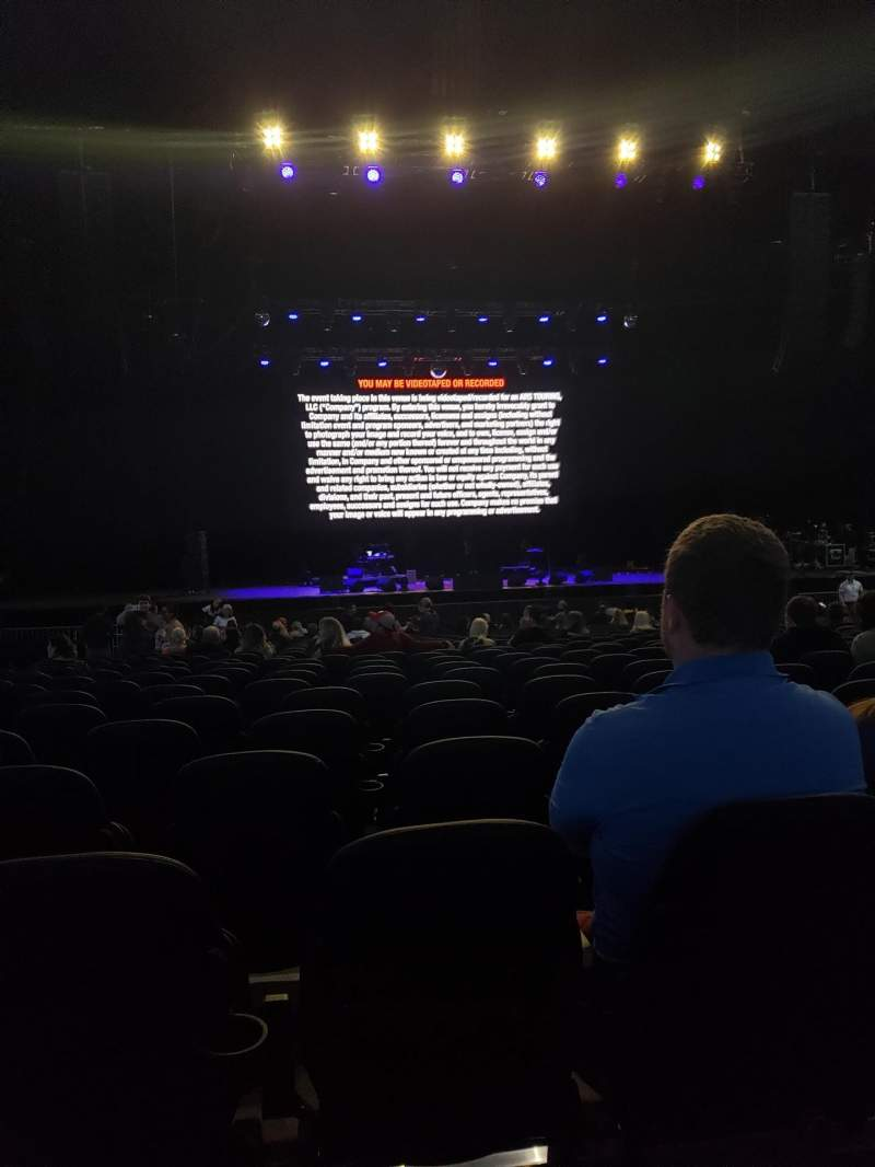 Seating view for Hollywood Casino Amphitheatre (Tinley Park) Section 103 Row EE Seat 34