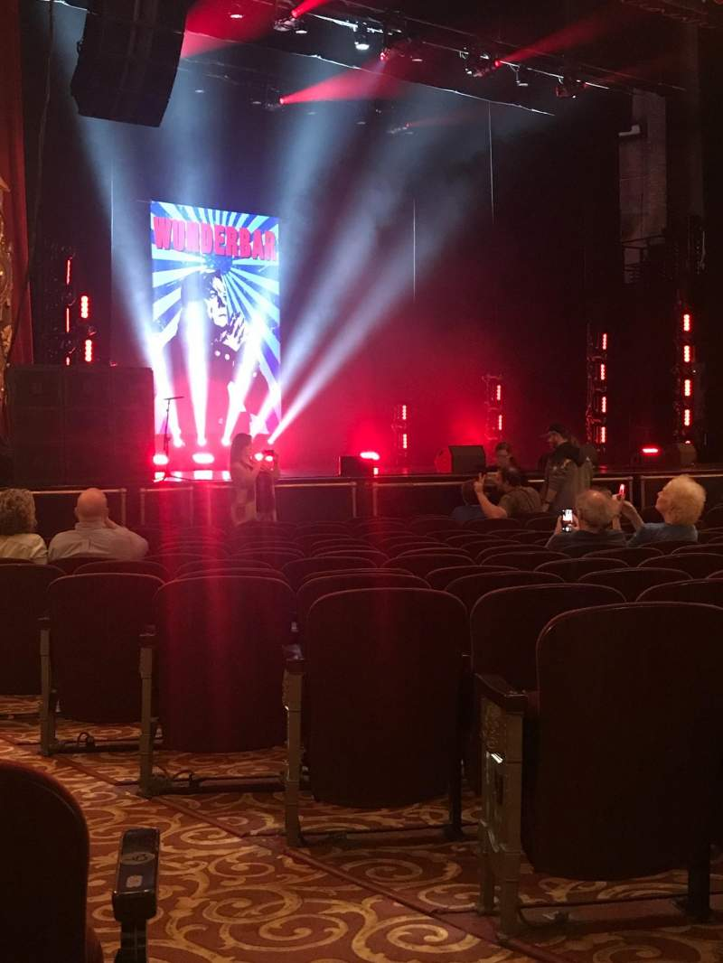 Seating view for Beacon Theatre Section Orchestra 3 Row L Seat 29