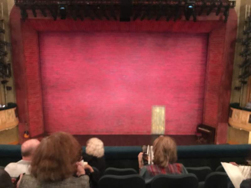 Seating view for Shubert Theatre Section Mezzanine C Row E Seat 108
