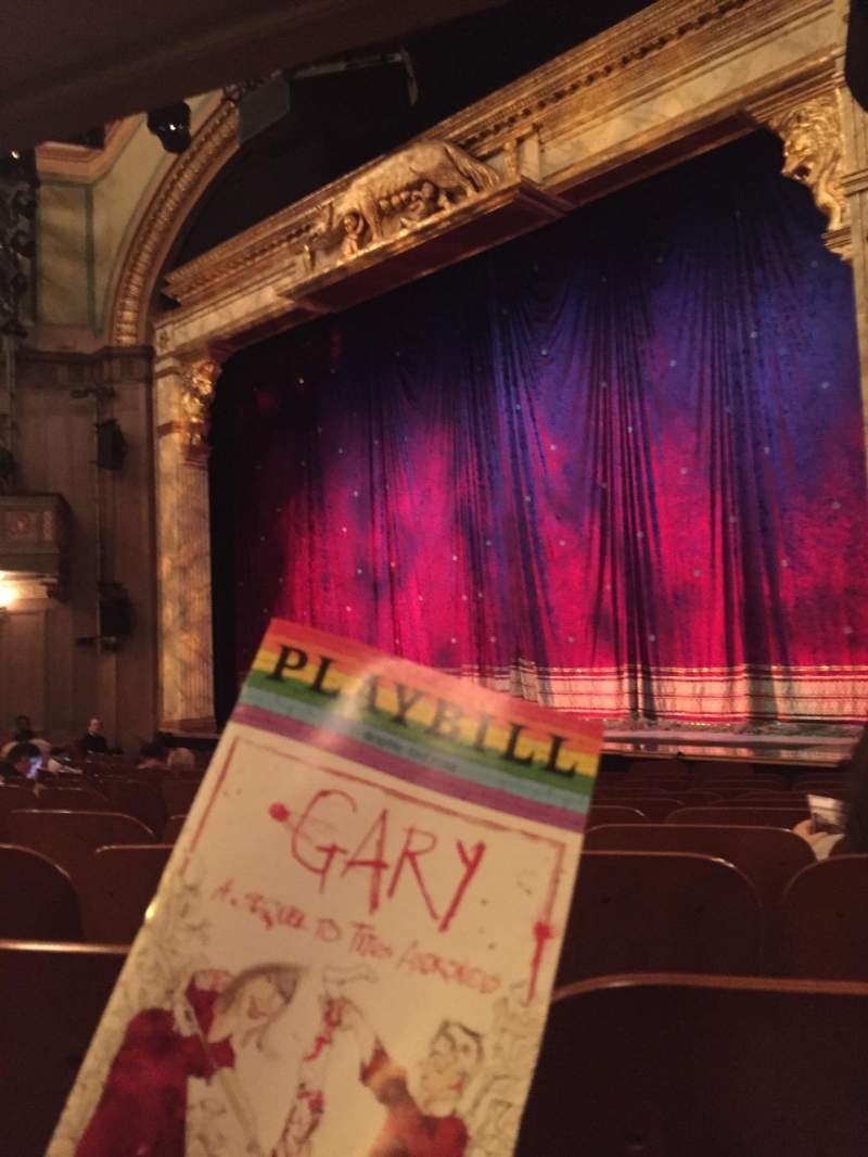 Seating view for Booth Theatre Section Orchestra R Row K Seat 10