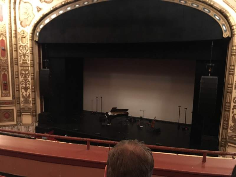 Seating view for Cadillac Palace Theater Section Loge R Row C Seat 327