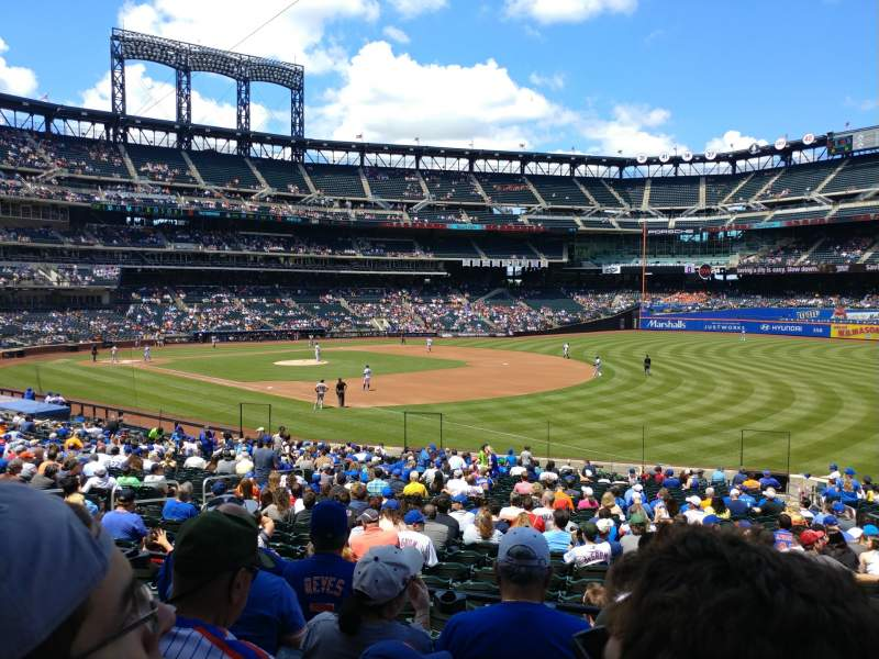 Seating view for Citi Field Section 109 Row 27 Seat 15
