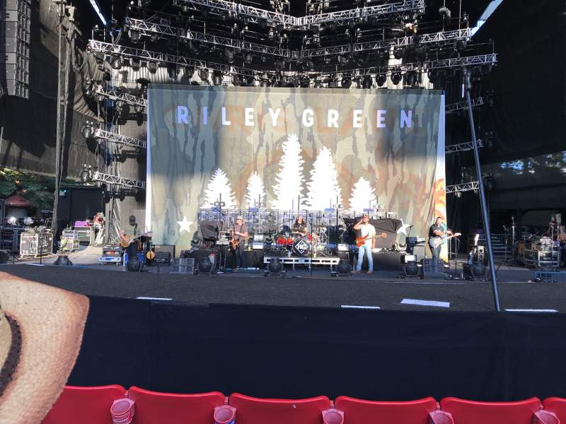 Seating view for Shoreline Amphitheatre Section 101 Row e Seat 14