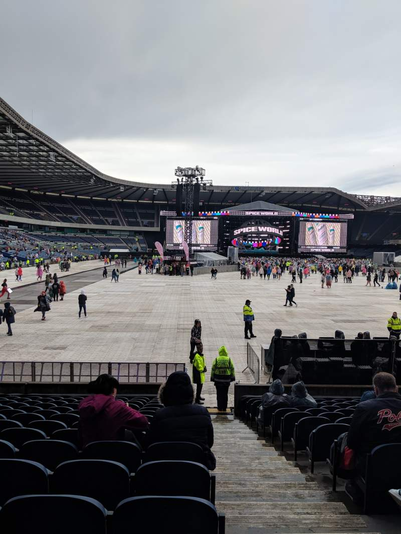 Seating view for Murrayfield Stadium Section South 15 Row R Seat 11