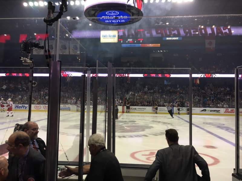 Seating view for Allstate Arena Section 102 Row EE Seat 27