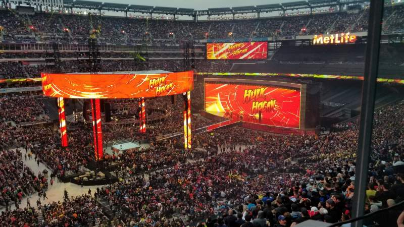 Seating view for Metlife Stadium  Section Suite 5-28 Row 1 Seat 1,2