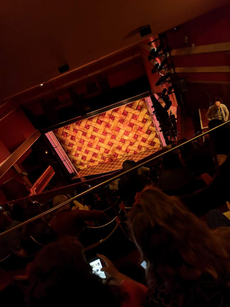 Seating view for Adelphi Theatre Section Upper Circle Row K Seat 7