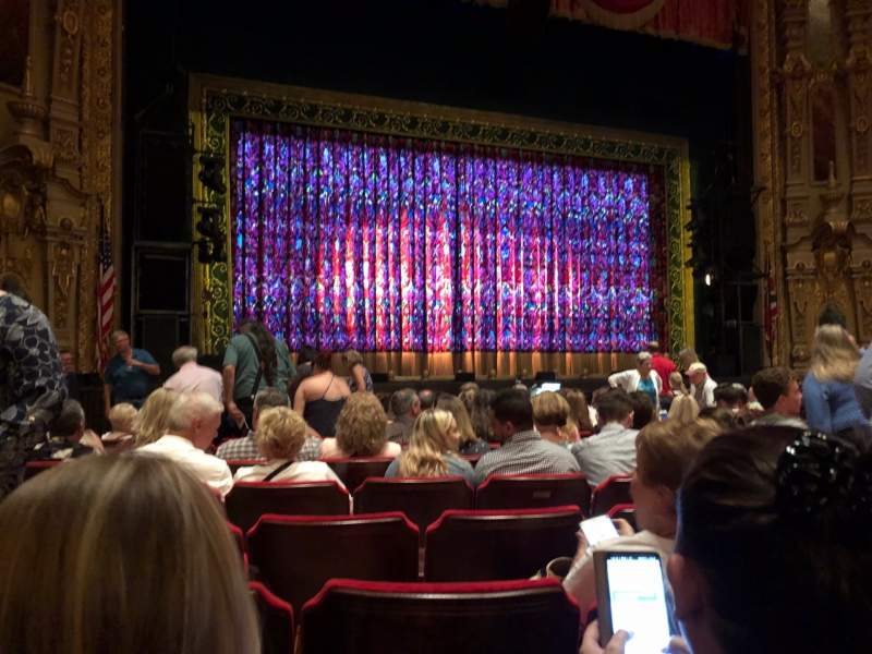 Seating view for Ohio Theatre (Columbus) Section Orchestra 3 Row L Seat 123