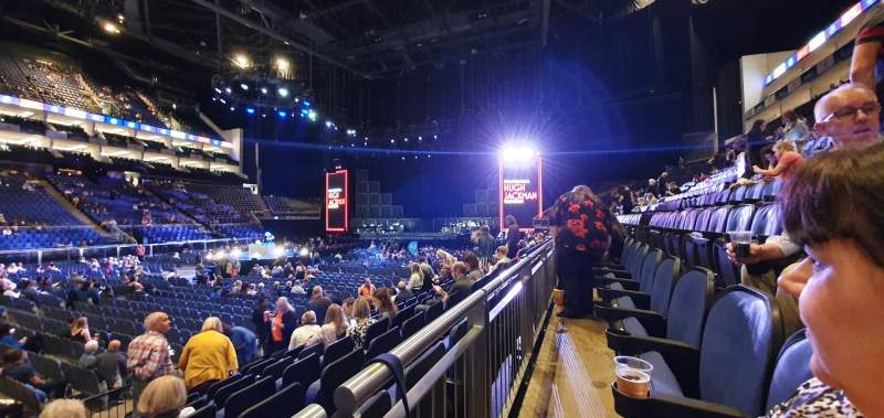 Seating view for The O2 Arena Section 111 Row H Seat 324