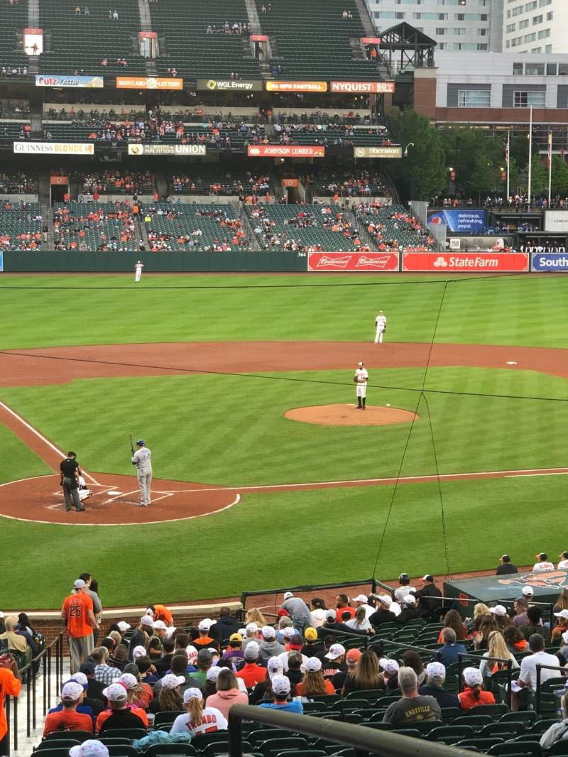 Seating view for Oriole Park at Camden Yards Section 31 Row 7 Seat 2