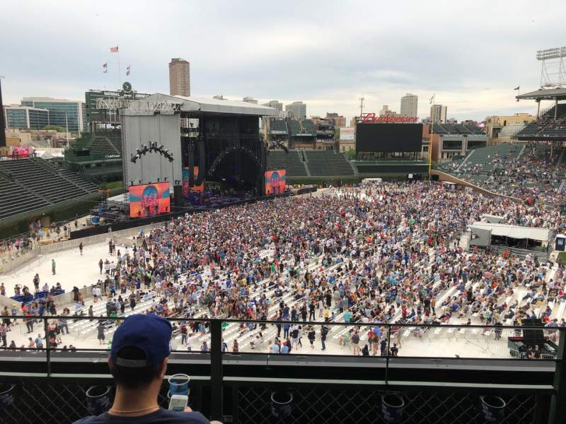 Seating view for Wrigley Field Section 304L Row 3 Seat 15
