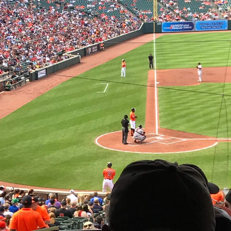 Seating view for Oriole Park at Camden Yards Section 29 Row 8 Seat 19