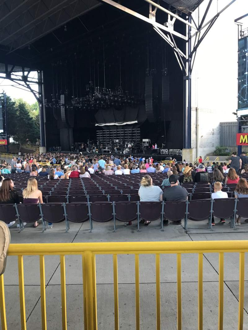 Seating view for Jiffy Lube Live Section 201 Row B Seat 19