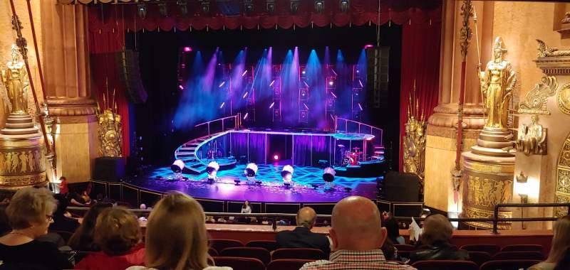 Seating view for Beacon Theatre Section Loge 2 Row G Seat 18