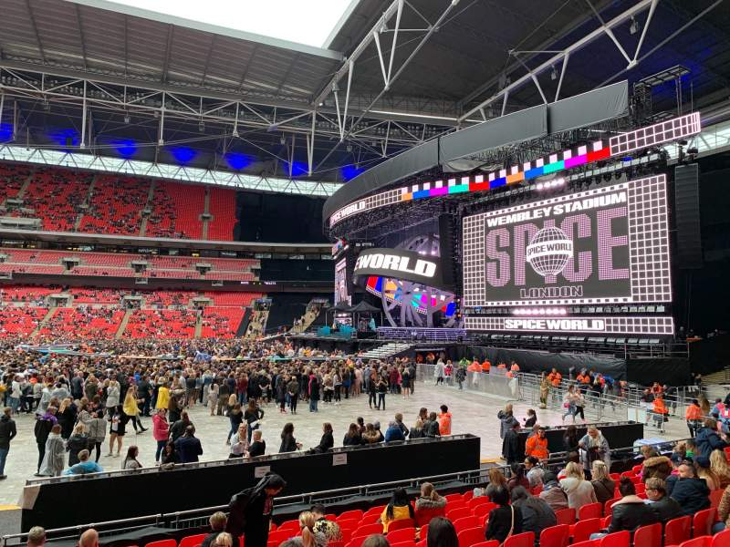 Seating view for Wembley Stadium Section 142 Row M Seat 245