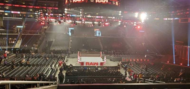 Seating view for Staples Center Section PR5 Row 7 Seat 17