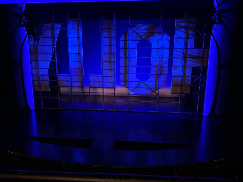 Seating view for Nederlander Theatre Section Mezzanine C Row A Seat 105