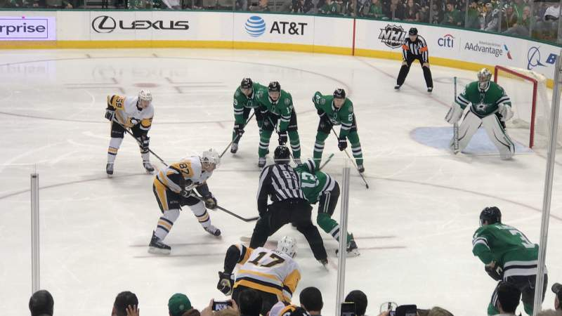 Seating view for American Airlines Center Section 105 Row N Seat 5