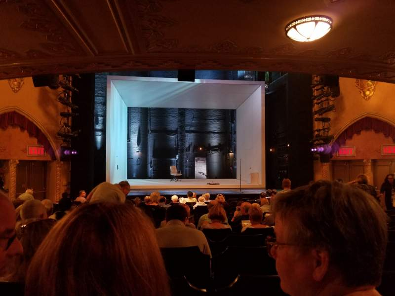 Seating view for John Golden Theatre Section Orchestra C Row Q Seat 113