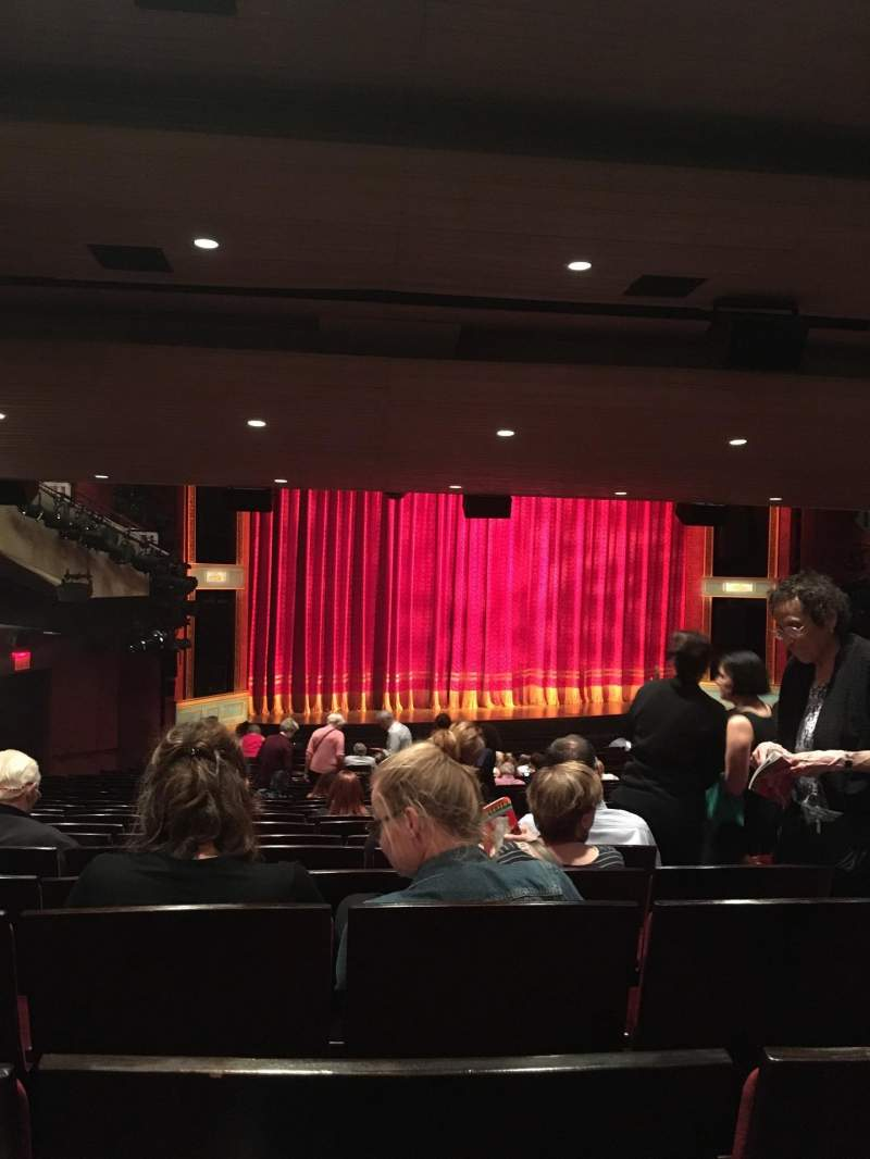 Seating view for Marquis Theatre Section Orchestra L Row Y Seat 7