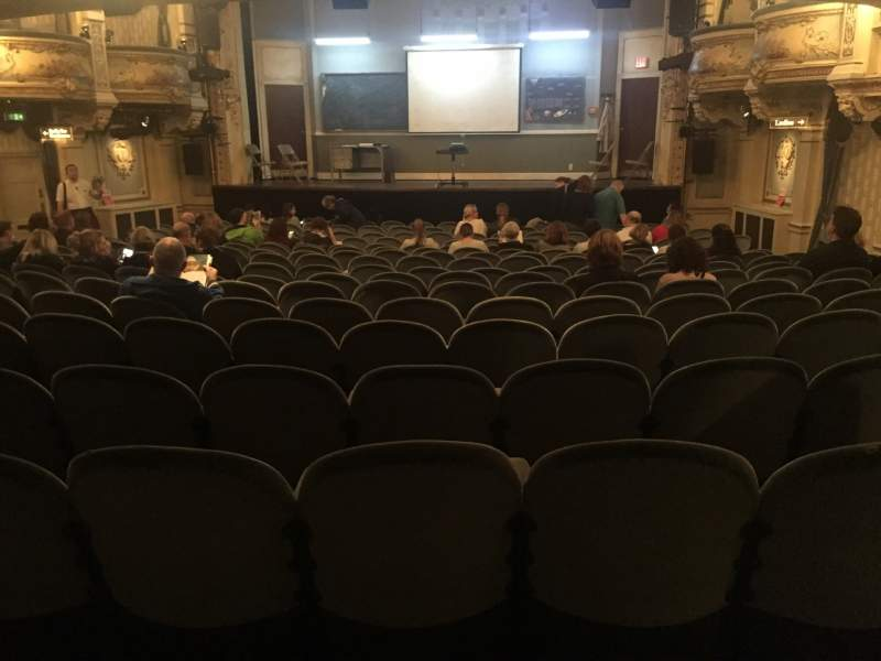 Seating view for Wyndham's Theatre Section Stalls Row R Seat 12