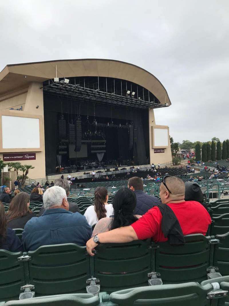 Seating view for North Island Credit Union Amphitheatre Section 205 Row M Seat 7