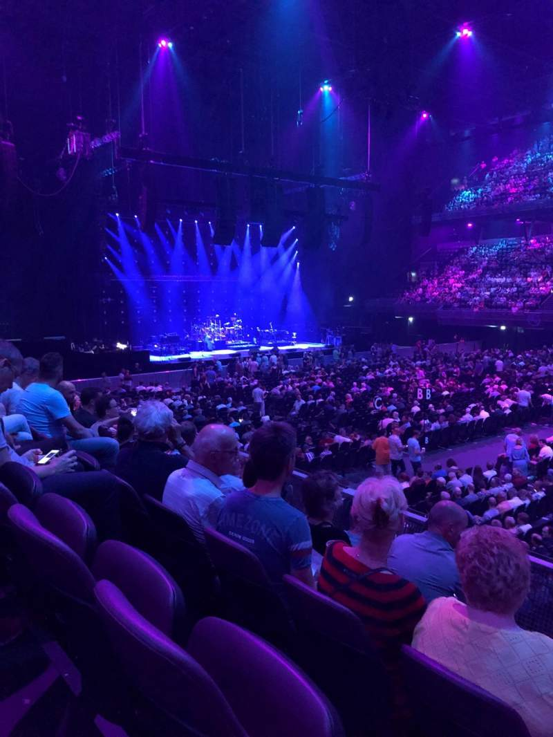 Seating view for Ziggo Dome Section 110 Row 5 Seat 341