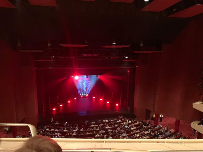 Seating view for San Diego Civic Theatre Section Balcony L Row P Seat 11
