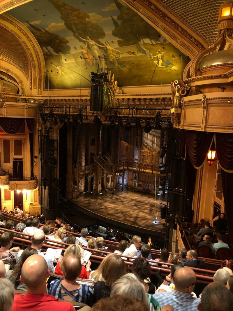 Seating view for Hippodrome Theatre Section Right Middle Balcony Row H Seat 226