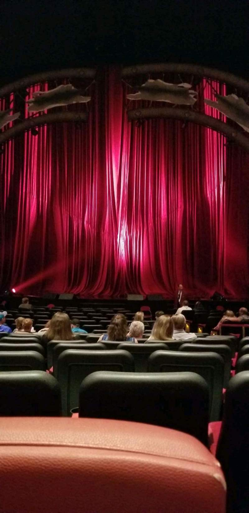 Seating view for The Colosseum At Caesars Palace Section 104 Row R Seat 405