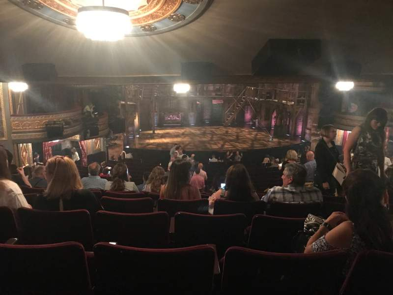 Seating view for Richard Rodgers Theatre Section Orchestra L Row W Seat 11
