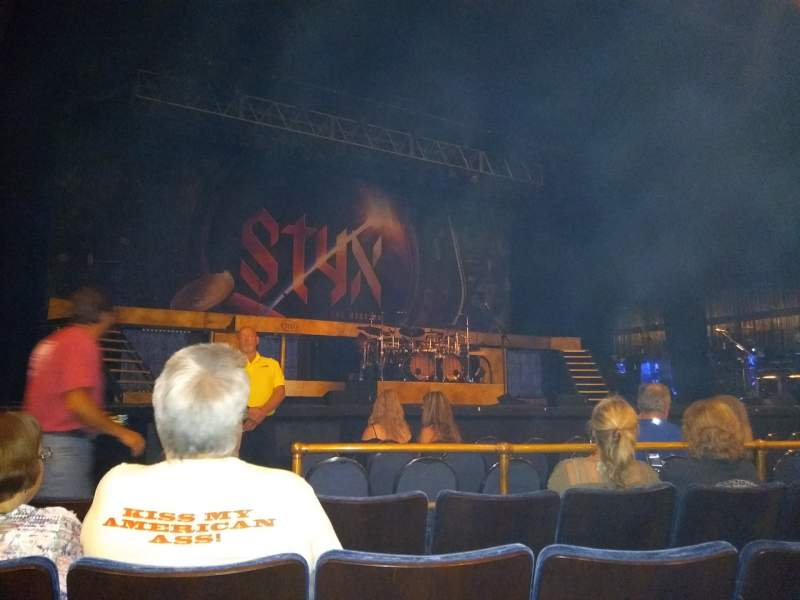Seating view for Peoria Civic Center Theater Section Main Floor Row D Seat 8
