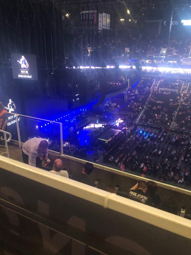 Seating view for PHX Arena Section 219 Row 6 Seat 11-12