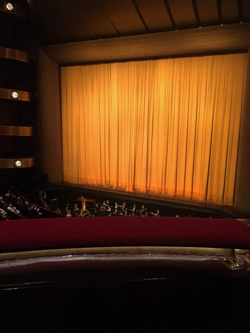 Seating view for David H. Koch Theater Section Second Ring Row A Seat 20
