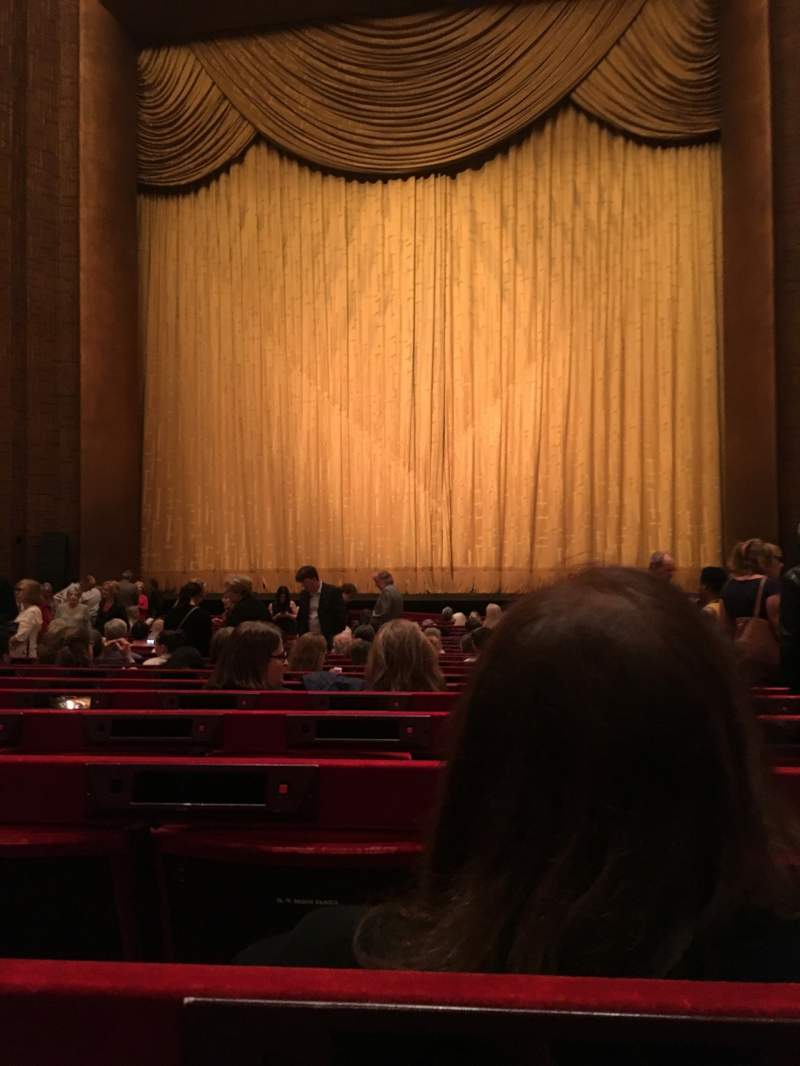Seating view for Metropolitan Opera House - Lincoln Center Section Orchestra Row U Seat 117