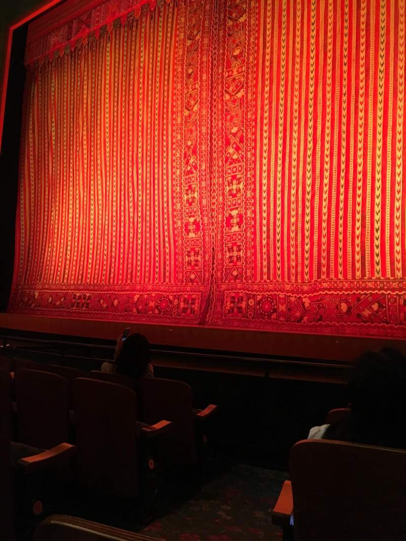 Seating view for New Amsterdam Theatre Section Orchestra R Row E Seat 4