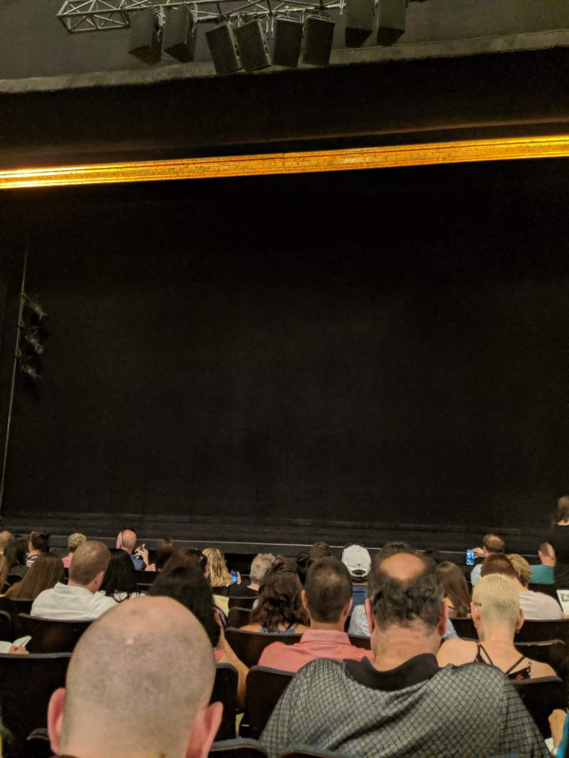 Seating view for Ambassador Theatre Section Orchestra C Row G Seat 111