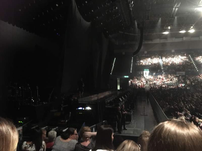 Seating view for Utilita Arena Birmingham Section 12 Lower Row K Seat 527-528