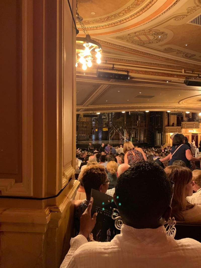 Seating view for Hippodrome Theatre Section Left Orchestra Row FF Seat 9