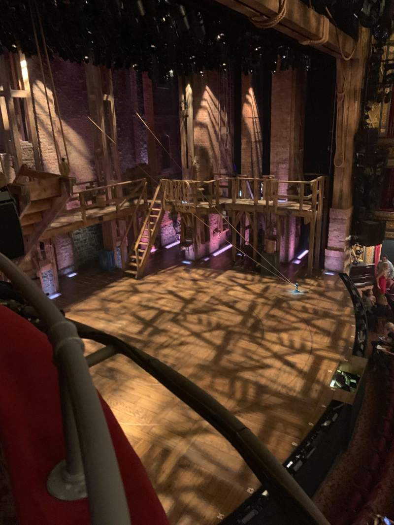 Seating view for Richard Rodgers Theatre Section Box E Row Box E Seat 3
