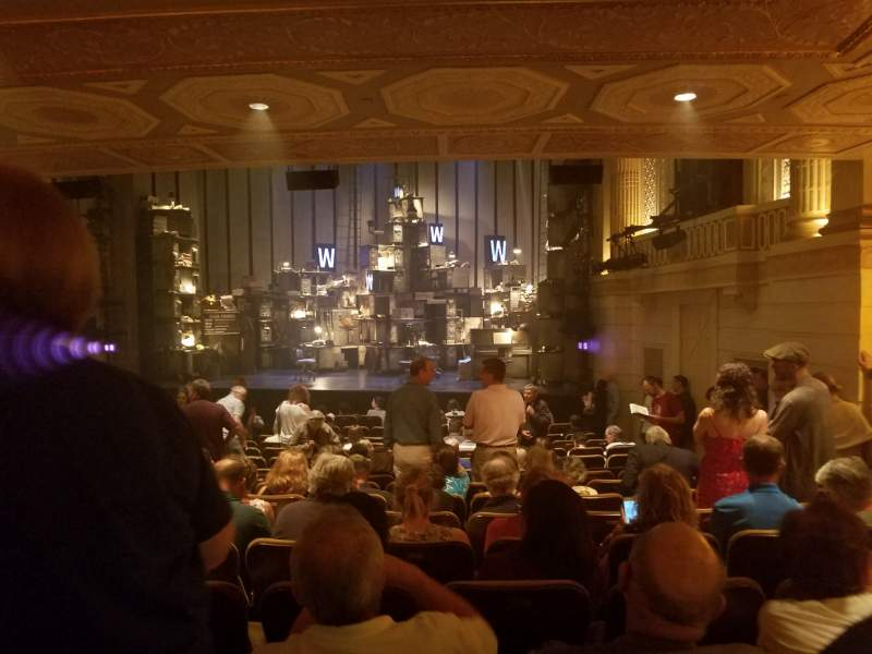 Seating view for Samuel J. Friedman Theatre Section Orchestra R Row P Seat 120