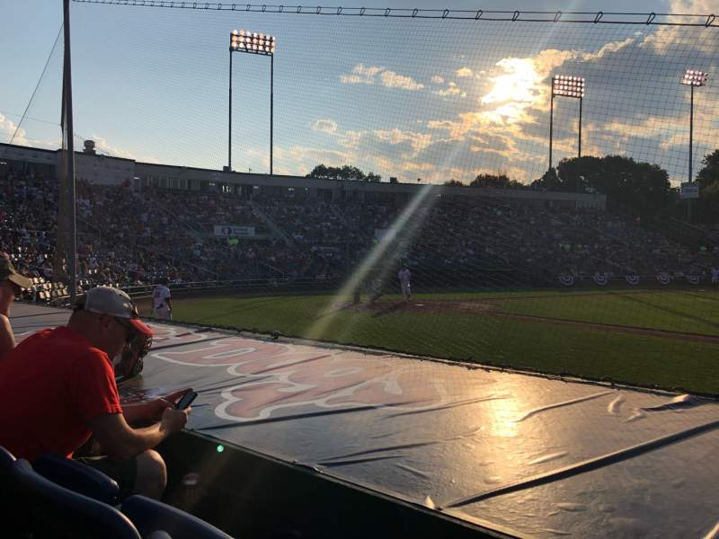 Seating view for Hadlock Field Section 101 Row G Seat 10