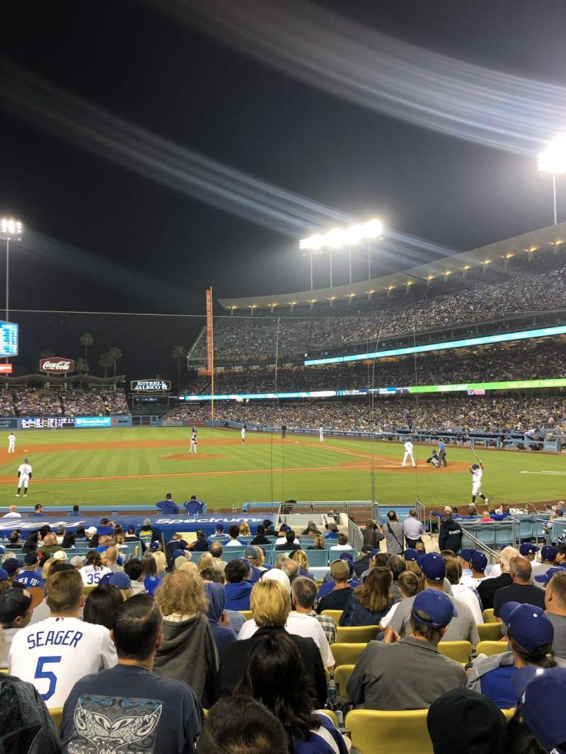 Seating view for Dodger Stadium Section 17FD Row N Seat 5