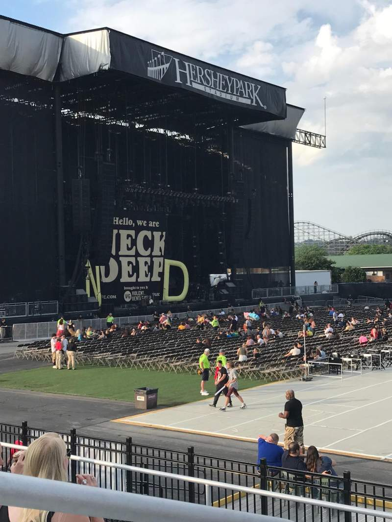 Seating view for Hershey Park Stadium Section 7 Row B Seat 33